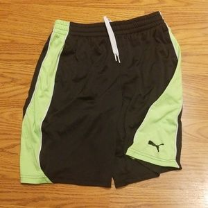 PUMA B-BALL SHORTS - EUC - 14/16